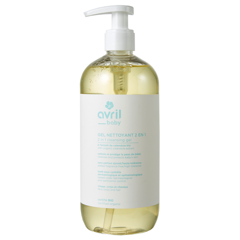 AVRIL 有機嬰幼兒二合一洗髮沐浴露 | AVRIL 2 in 1 Baby Cleansing Gel - Certified Organic