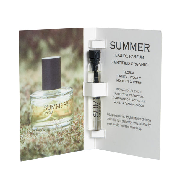 UNIQUE BEAUTY SUMMER EDP 盛夏之森有機香水 | UNIQUE BEAUTY SUMMER ORGANIC EAU DE PARFUM