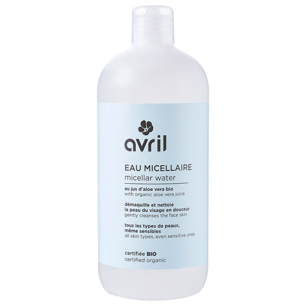 AVRIL 有機蘆薈矢車菊卸妝淨膚水 | AVRIL CLEANSING MICELLAR LOTION - CERTIFIED ORGANIC