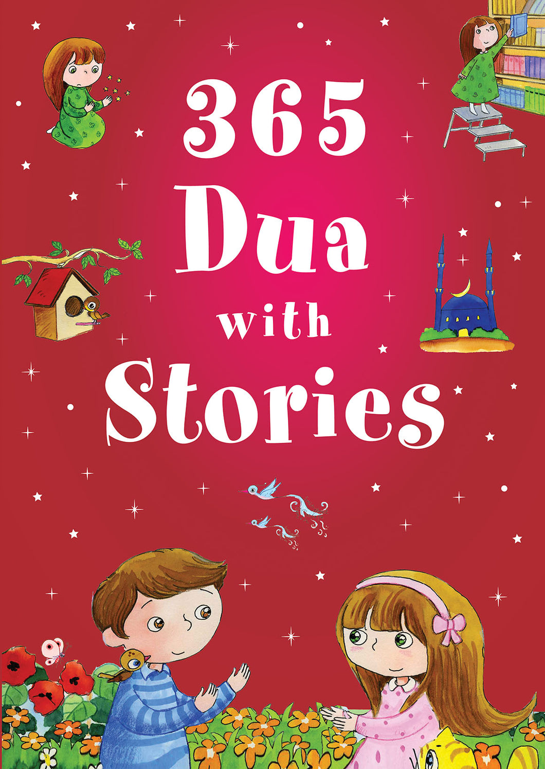 365 Dua with Stories (HB) - Baitul Hikmah Islamic Book and Gift Store