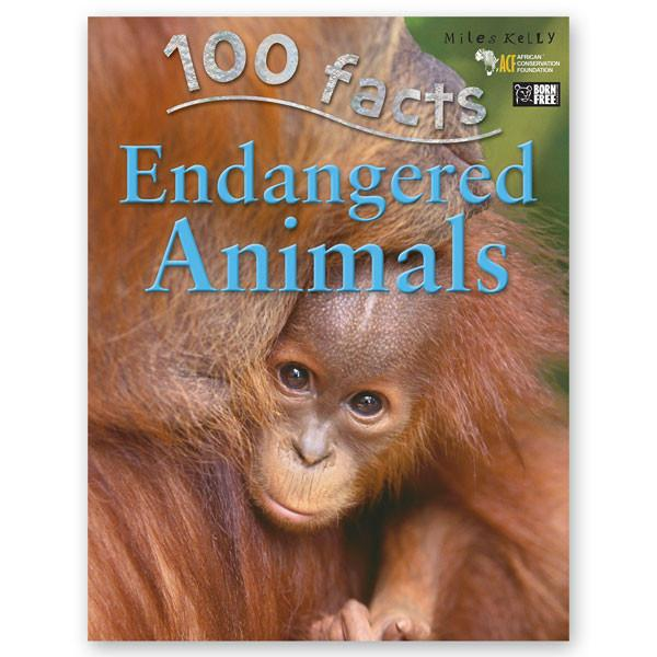 100 Facts : Endangered Animals - Baitul Hikmah Islamic Book and Gift Store