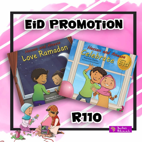Hassan and Aneesa (Eid Promotion) - Baitul Hikmah Islamic Book and Gift Store