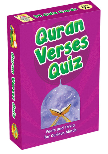 QURAN VERSES QUIZ CARDS - Baitul Hikmah Islamic Book and Gift Store