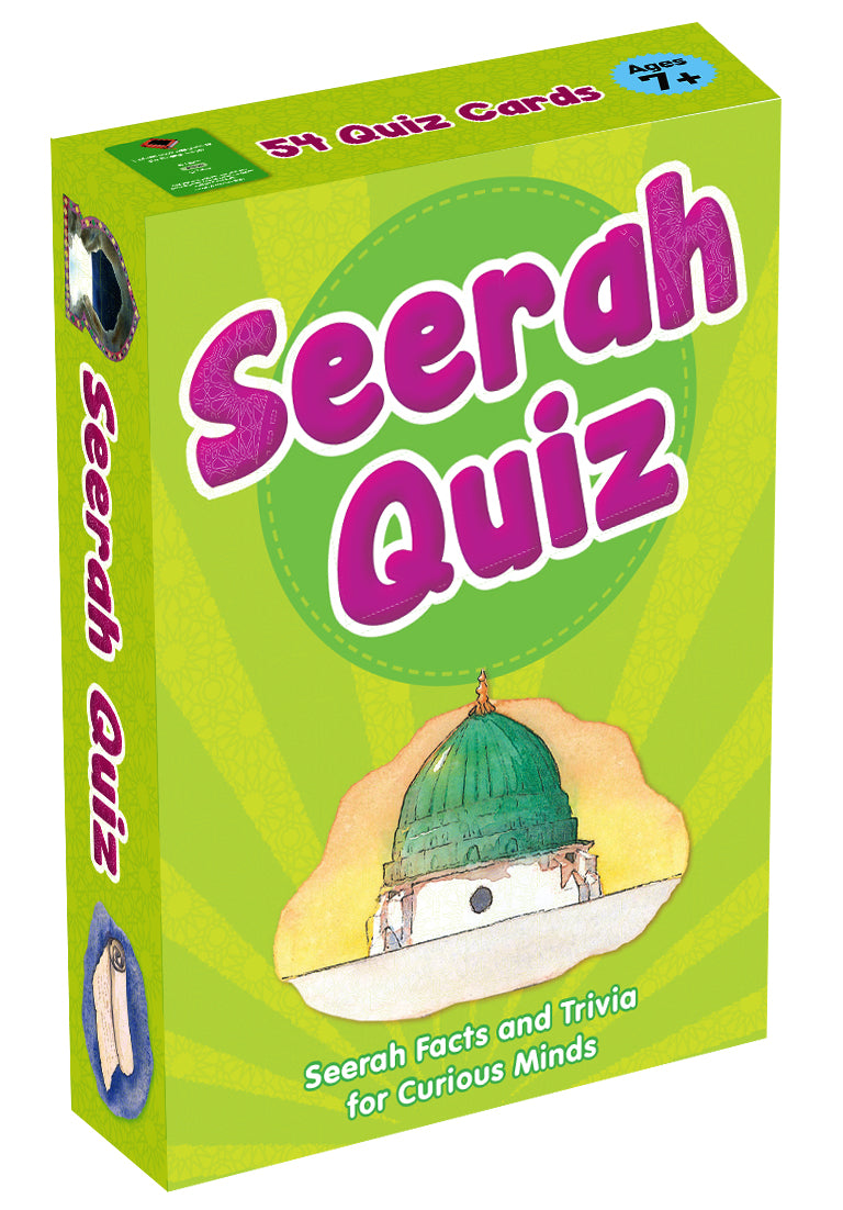 SEERAH QUIZ CARDS - Baitul Hikmah Islamic Book and Gift Store