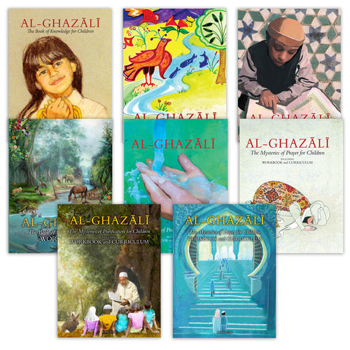 Al-Ghazali Children's Full Book Set (Set of 8 books) - Baitul Hikmah Islamic Book and Gift Store