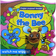 Bonny the Bee - Finger Puppet Book - Baitul Hikmah Islamic Book and Gift Store