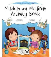 Makkah and Madinah Activity Book by Aysenur Gunes - Baitul Hikmah Islamic Book and Gift Store