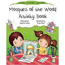 Mosques of the World Activity Book by Aysenur Gunes - Baitul Hikmah Islamic Book and Gift Store