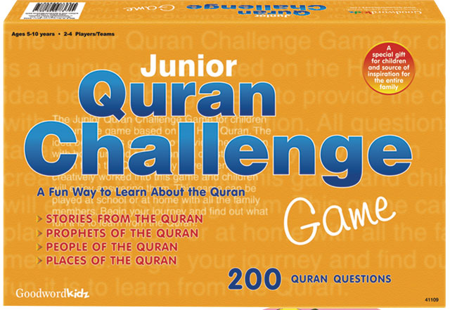 Junior Quran Challenge Game - Baitul Hikmah Islamic Book and Gift Store