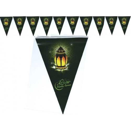 FLAGS - RAMADAN KAREEM (PACK OF 10) - Baitul Hikmah Islamic Book and Gift Store