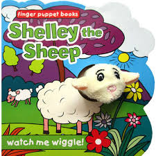 Shelly the Sheep - finger puppet Book - Baitul Hikmah Islamic Book and Gift Store