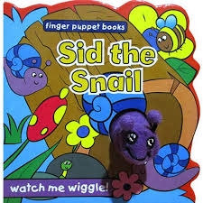 Sid the Snail - Finger puppet Book - Baitul Hikmah