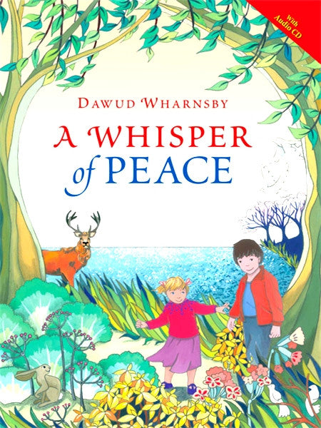A Whisper of Peace + CD by Dawud Wharnsby - Baitul Hikmah