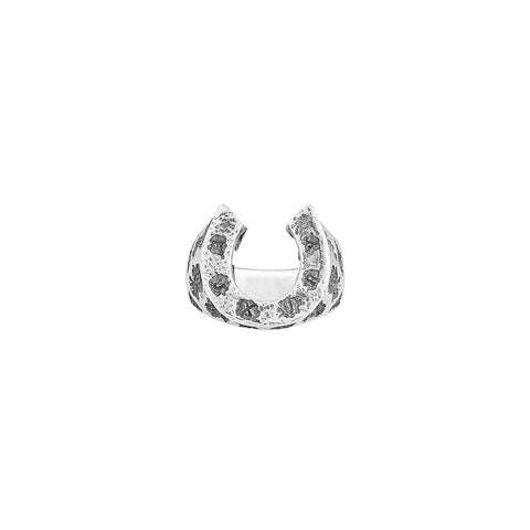 Damaged Horseshoes 925 Silver Rings