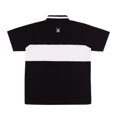 """SAD BOY"" BLACK POLO SHIRT"