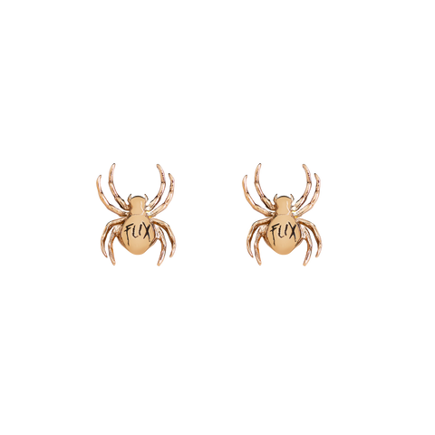 """TARANTULAS"" 925 GOLD PLATED EARRINGS"
