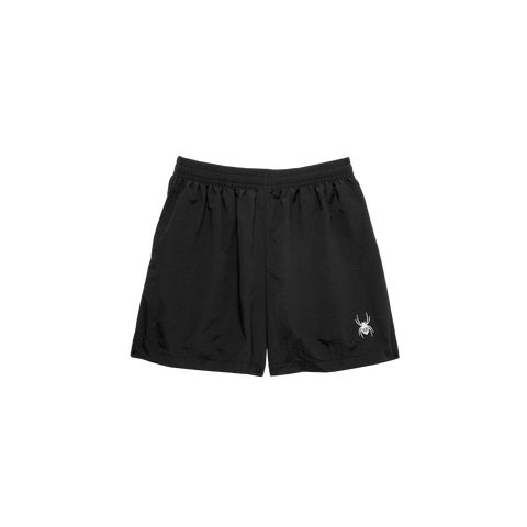 """SPIDER"" BLACK SHORTS"