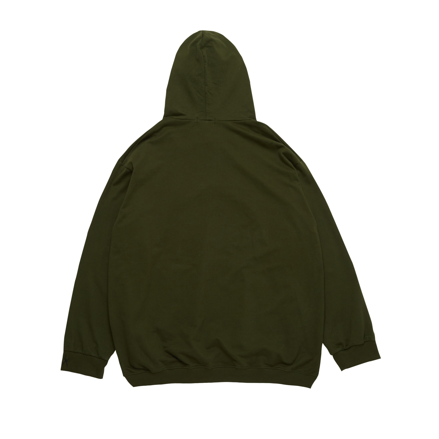 """Big Sad Box"" KHAKI RELAXED HOODIE"