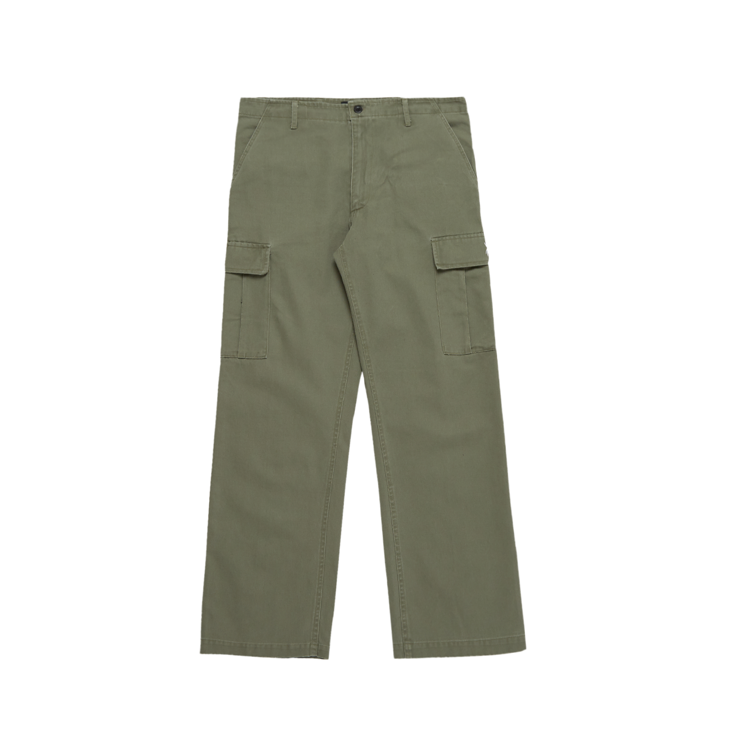"""SPIDER"" KHAKI WASHED CARGO PANTS"