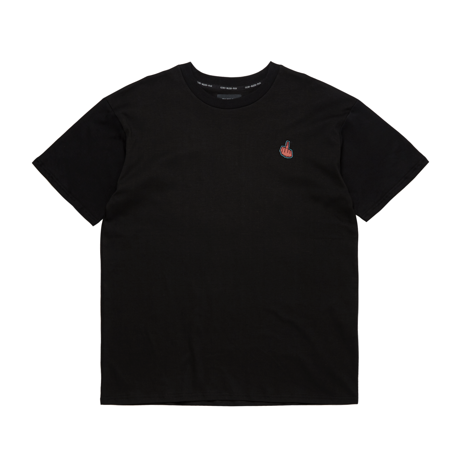 """GOD BLESS FUX"" BLACK TEE"