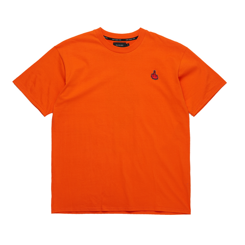 """GOD BLESS FUX"" ORANGE TEE"