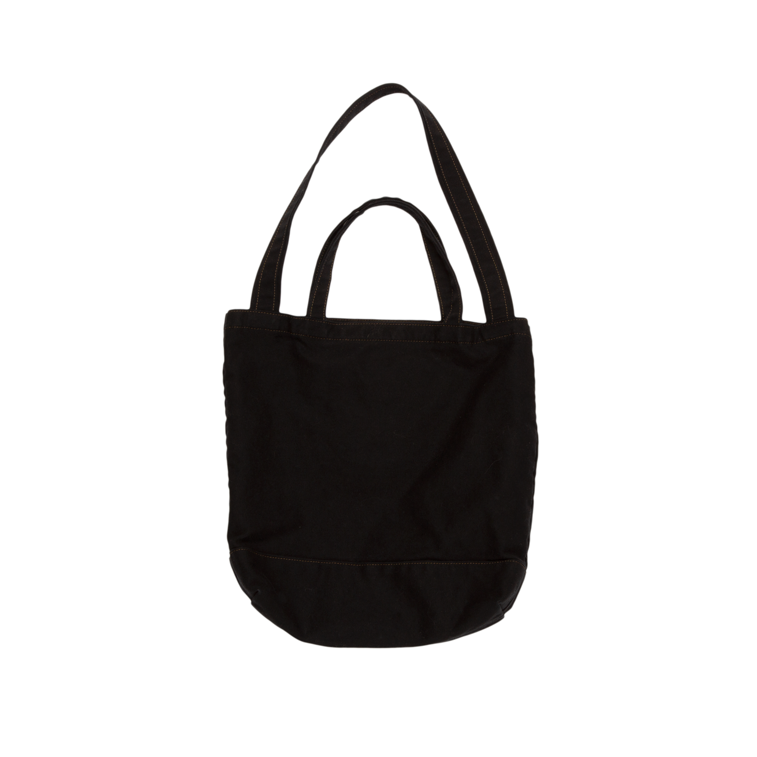 """BORO BEAR"" BLACK CANVAS TOTE BAG"