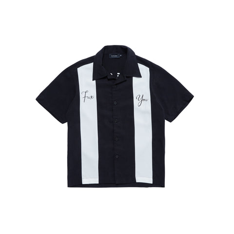 """LFS"" BLACK BOWLING SHIRT"