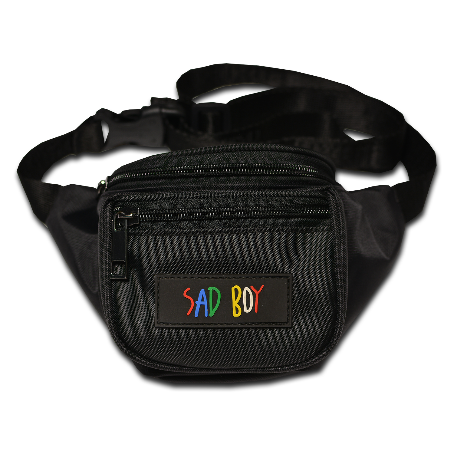 SADBOY BLACK KID'S BAG