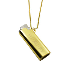 LOGO GOLD LIGHTER CASE