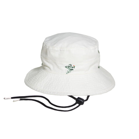 CUPID WHITE BUCKET HAT