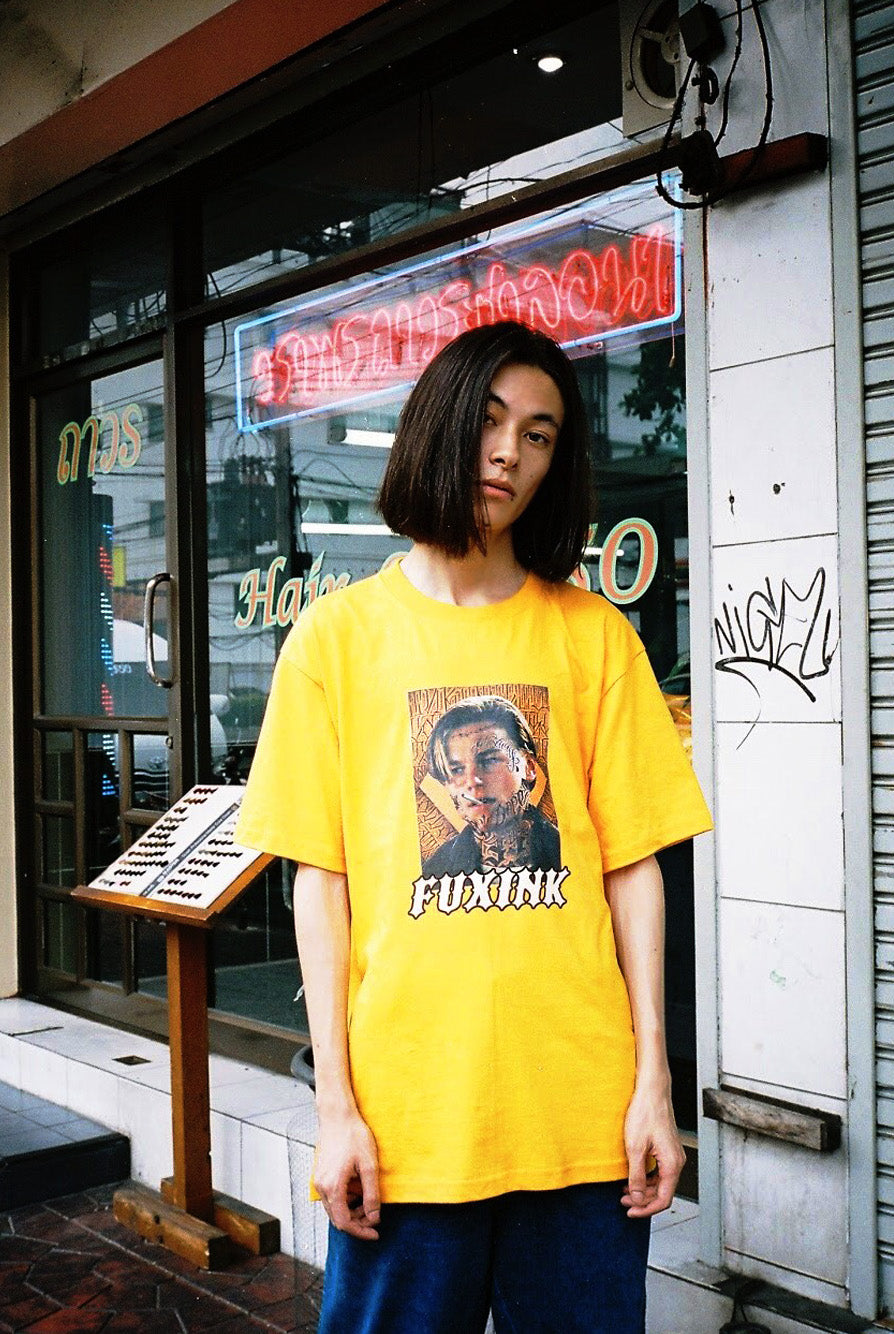 LEO GANG YELLOW TEE