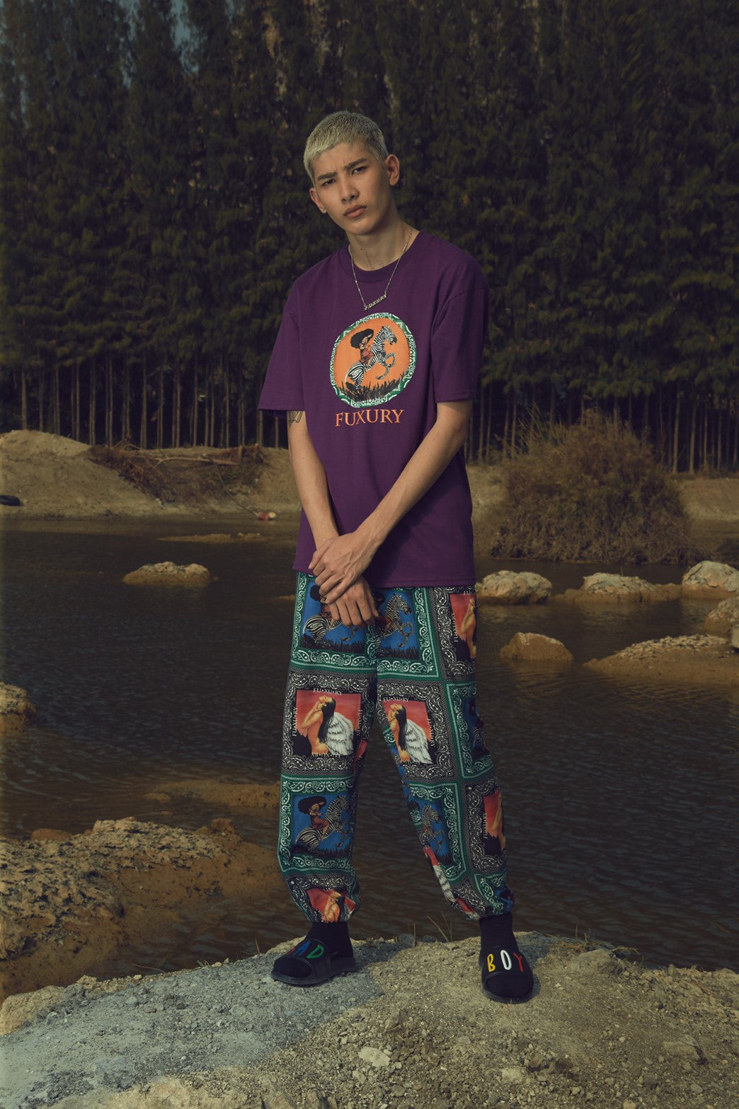 """PARADISE"" SWEAT PANTS"