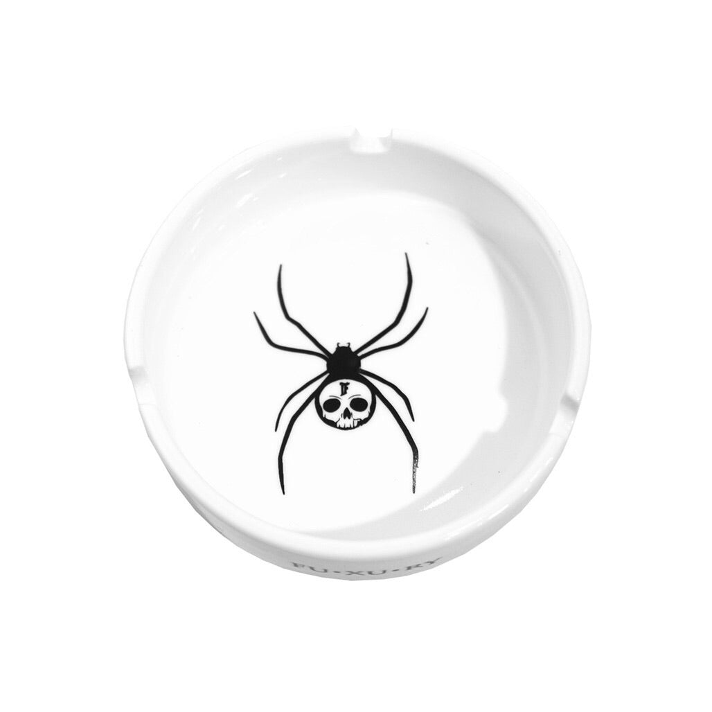 """SPIDER"" WHITE ASHTRAY"