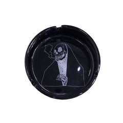 """SKULL"" BLACK ASHTRAY"