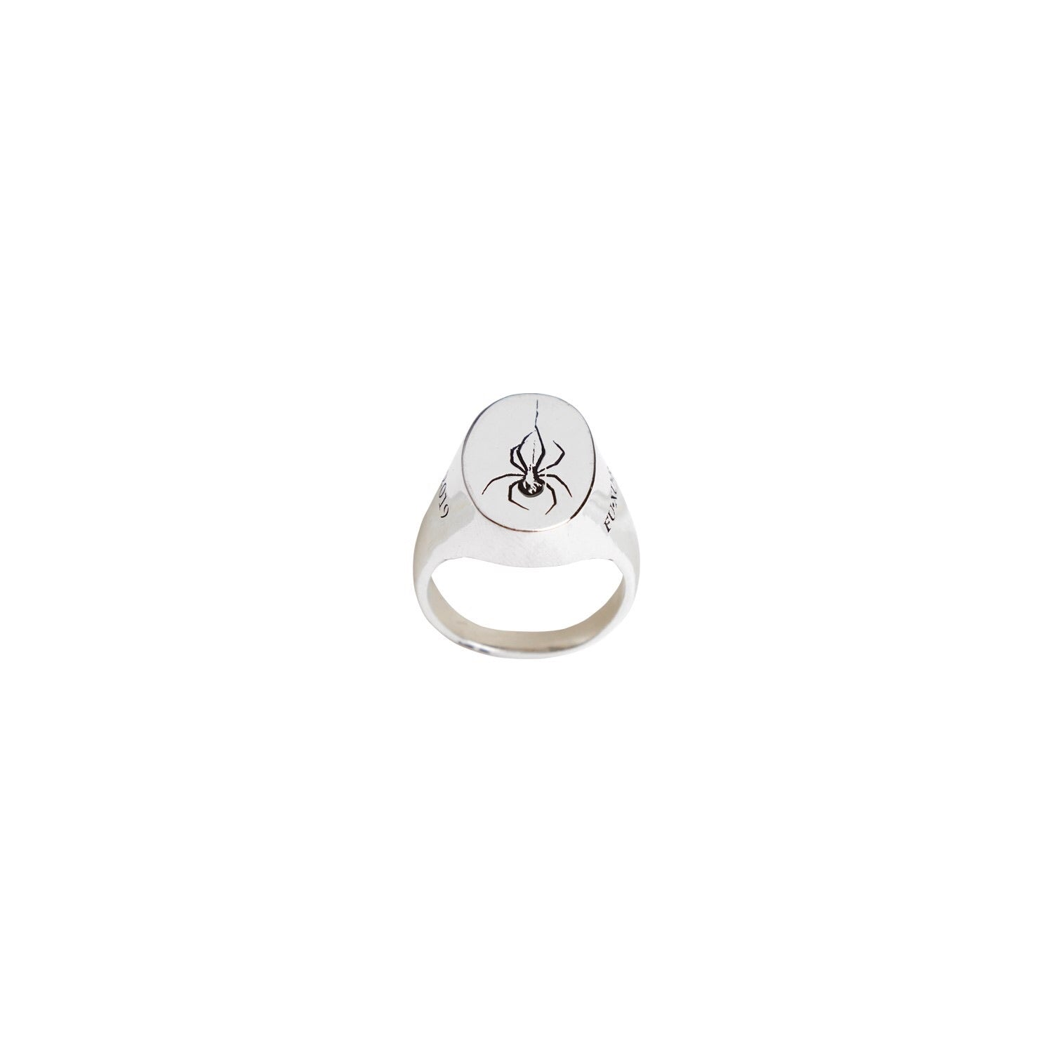 """Spider Fux"" 925Silver Ring"