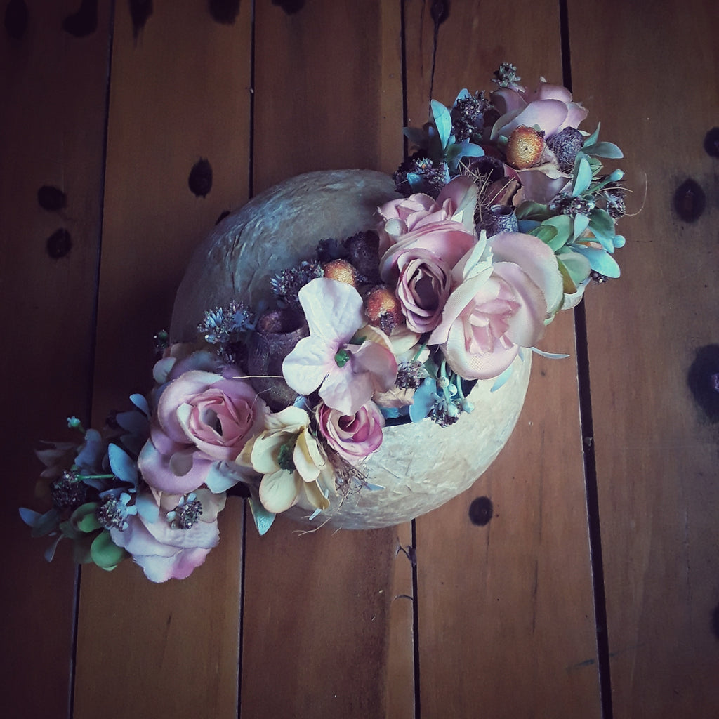 WIN!! This Maternity Flower Crown needs a name!