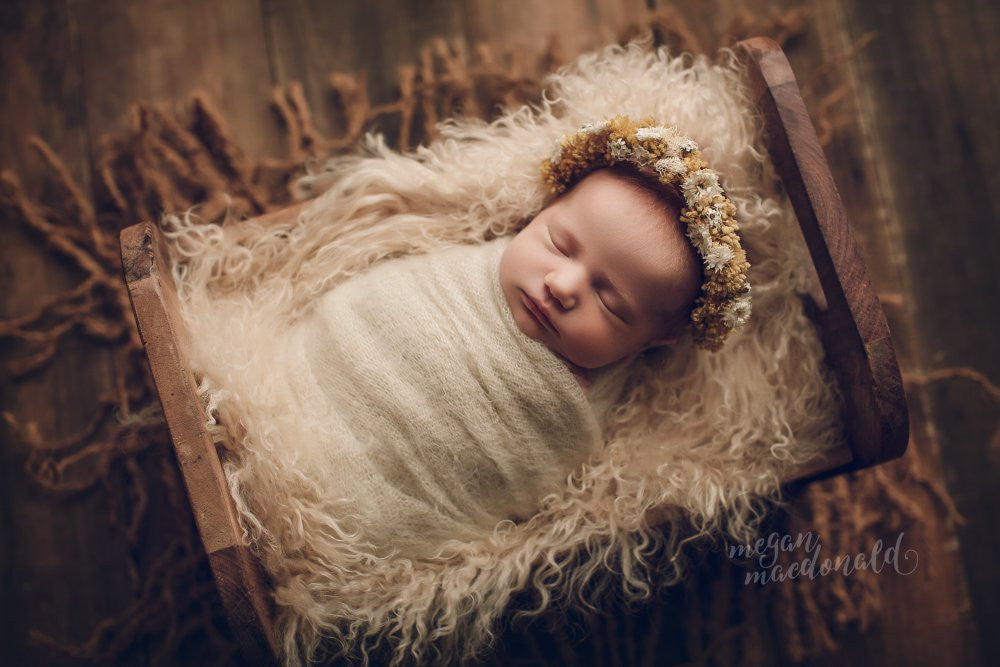 Newborn photography propsbaby photo propsheadband for baby photographyflower crown