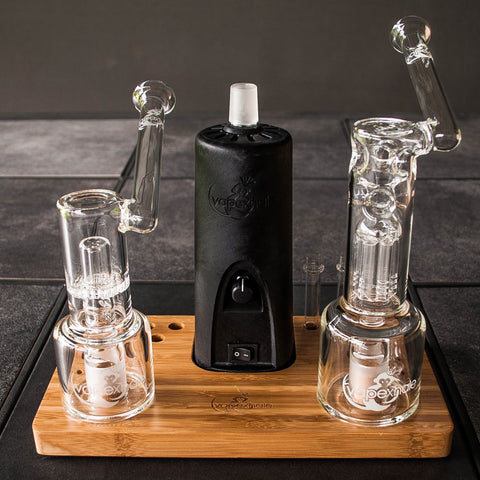 vapexhale cloud evo, swiss tree hydratube and honeycomb hydratube