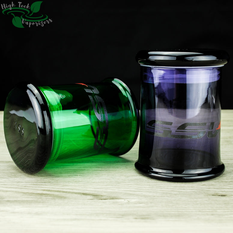 SSV glass storage jar
