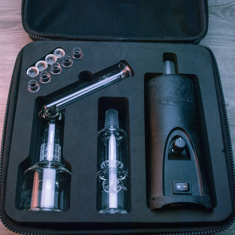 EVO Kit Case with Cloud EVO, precision hydratube and lynx by vapexhale inside