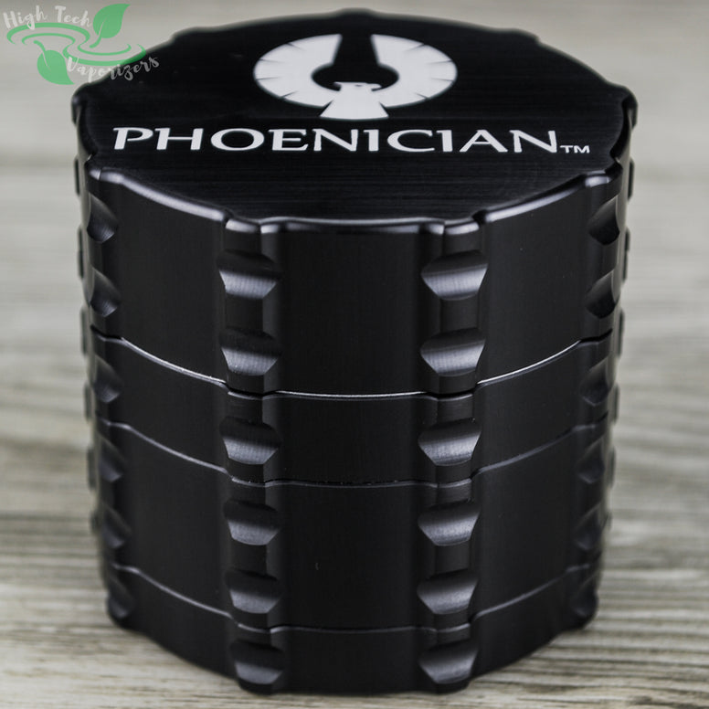 black phoenician medium 4 piece grinder