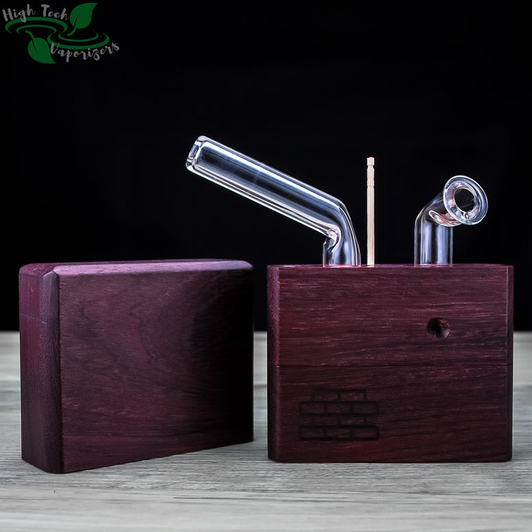 purple heart junior sticky brick with lid off