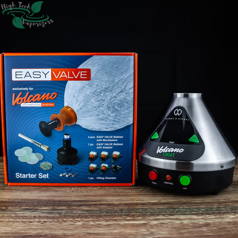 volcano digit with easy valve starter kit