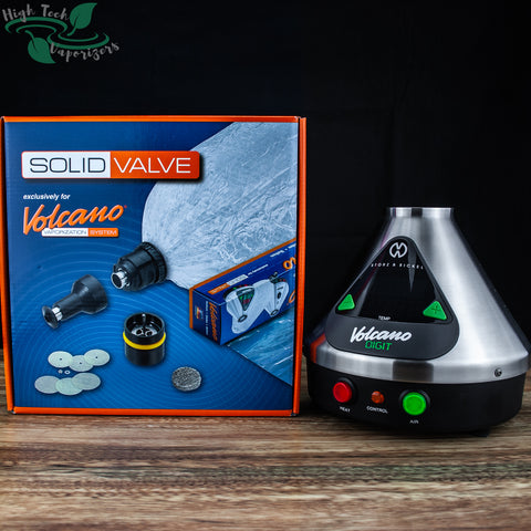 digit volcano with solid valve starter kit by storz and bickel