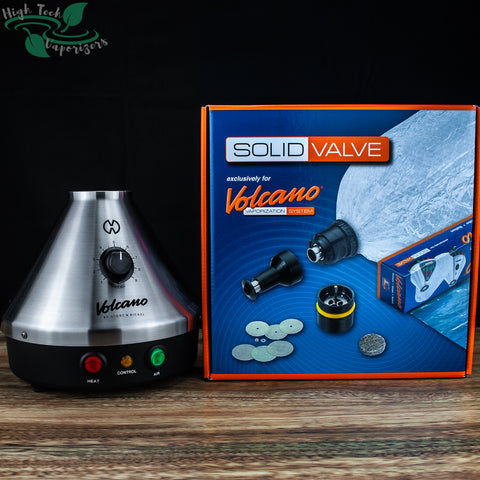 Classic Volcano with solid valve starter kit