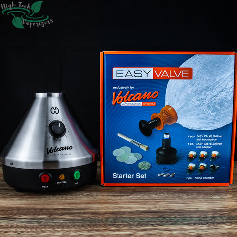 Classic Volcano with easy valve starter kit