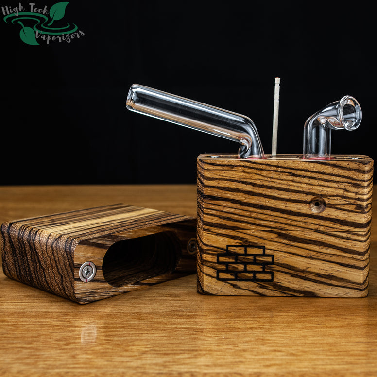 Zebrawood junior sticky brick lid off