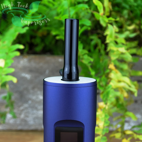 black short arizer solo/air glass stem