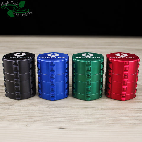 all colours phoenician 4pc small grinder