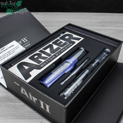 unboxing arizer air II vaporizer